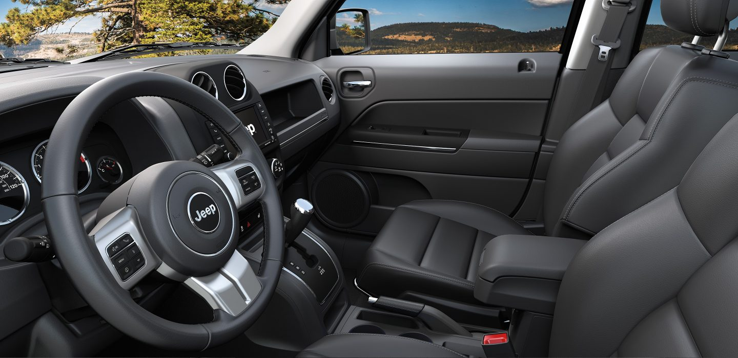 New Jeep Patriot Interior Features