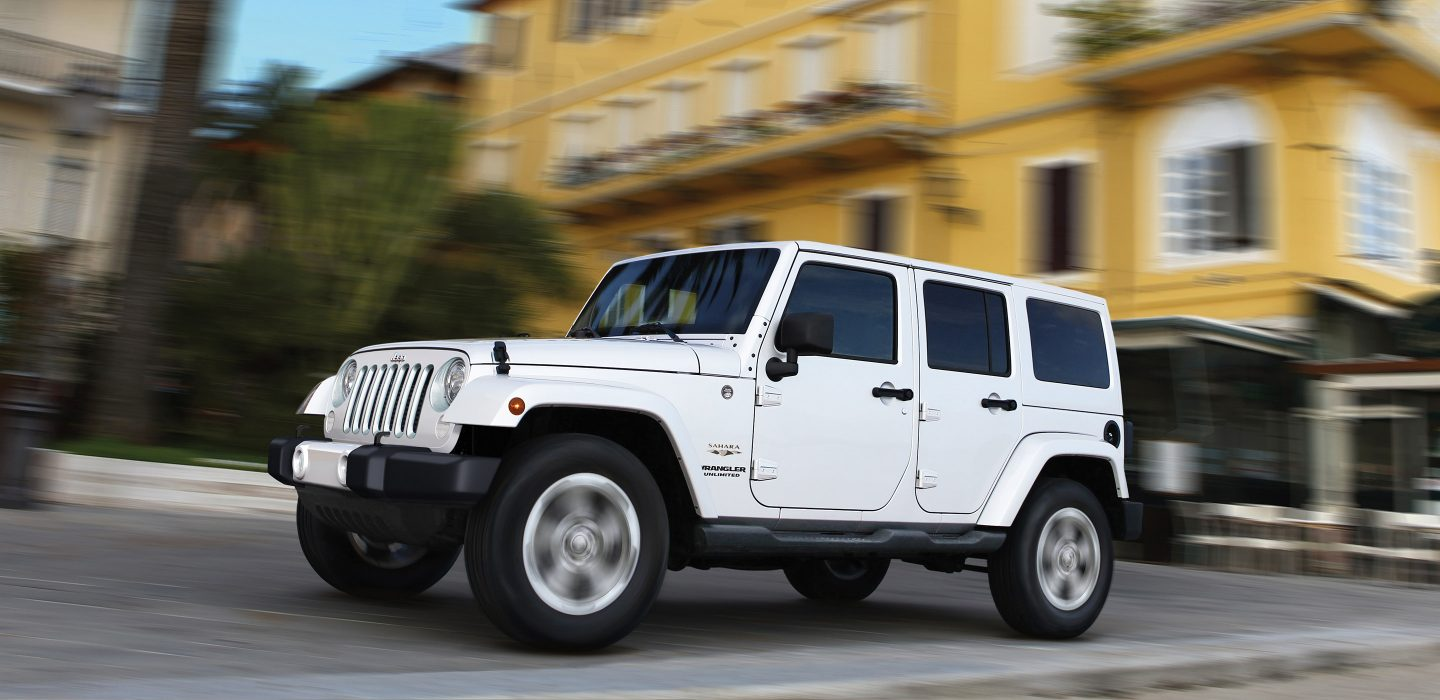 Jeep wrangler unlimited lease
