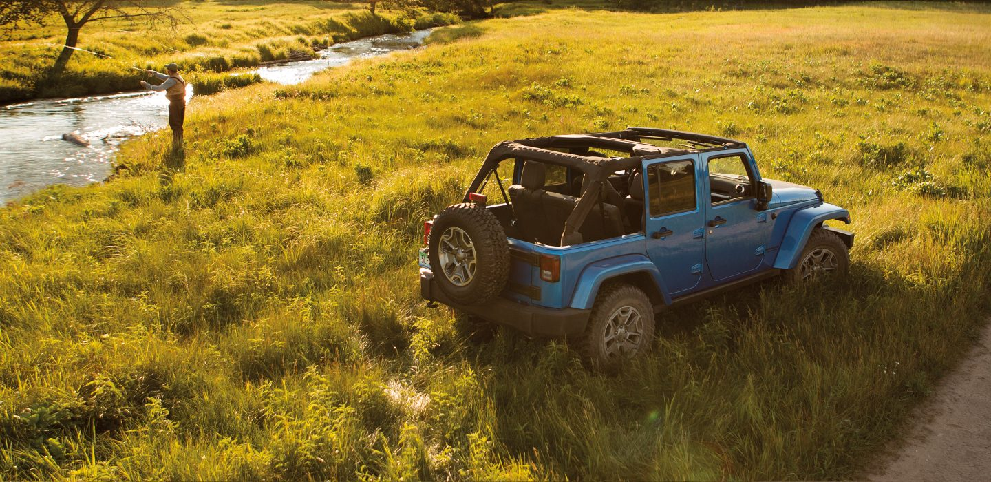 New Jeep Wrangler Unlimited Exterior main image
