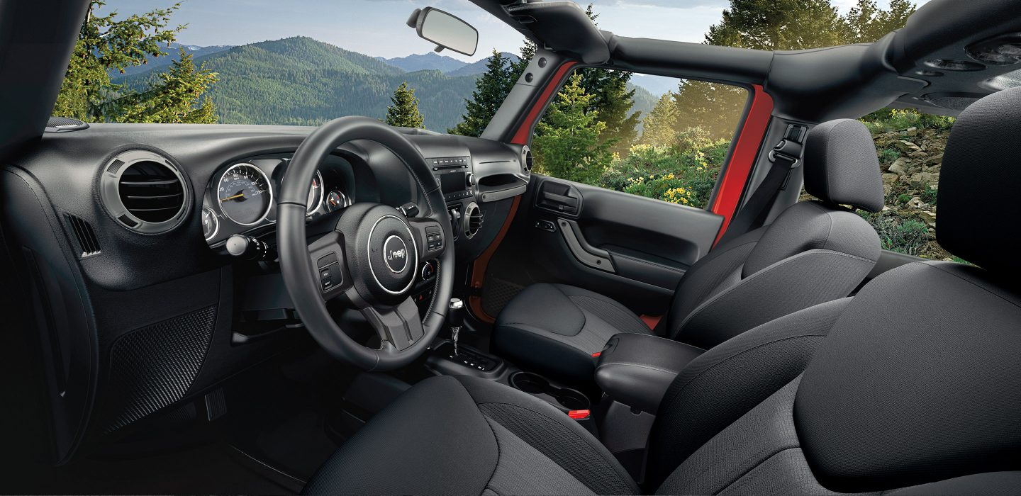New Jeep Wrangler Unlimited Interior Features
