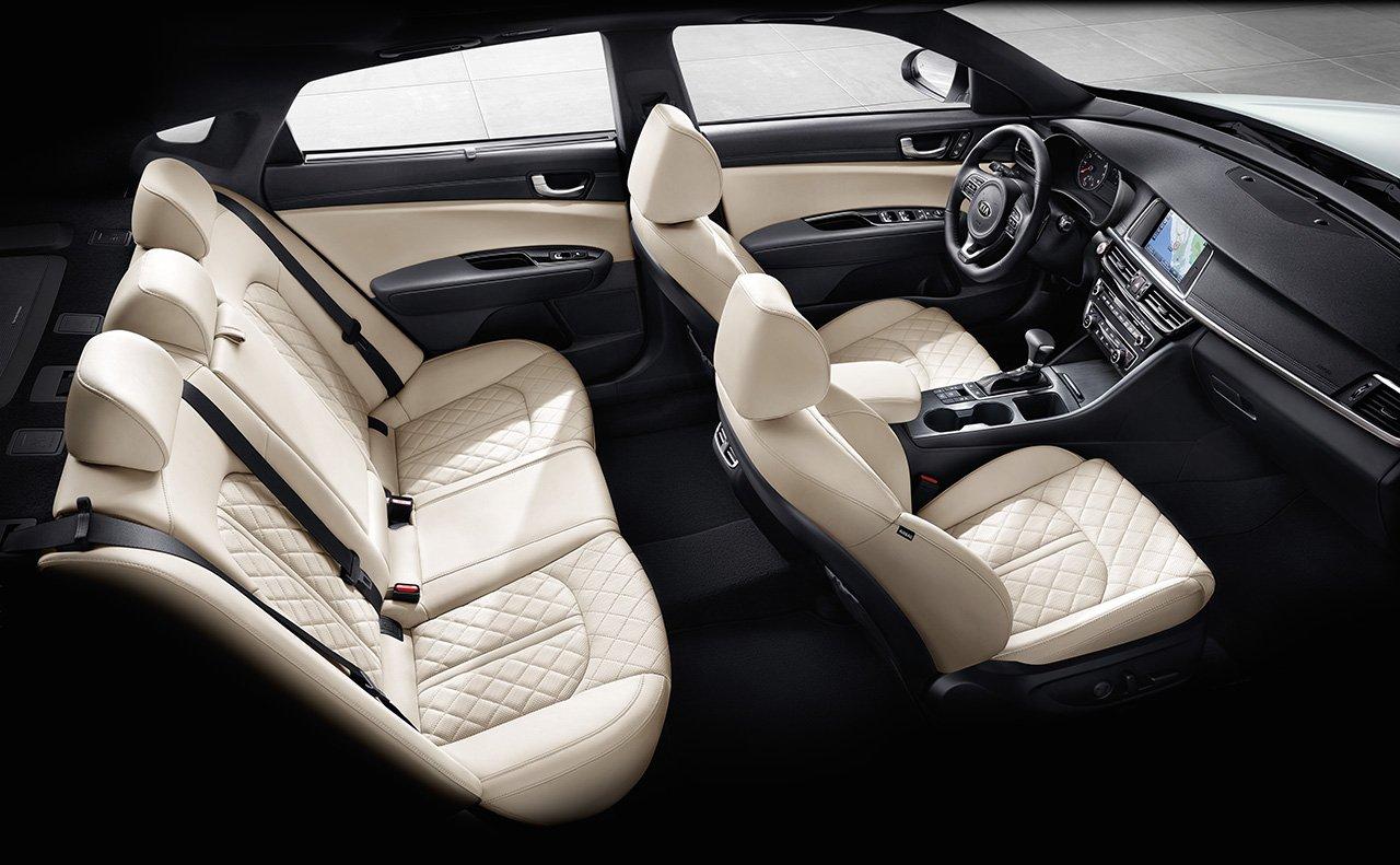 Beautiful New Kia Optima Interior Main Image