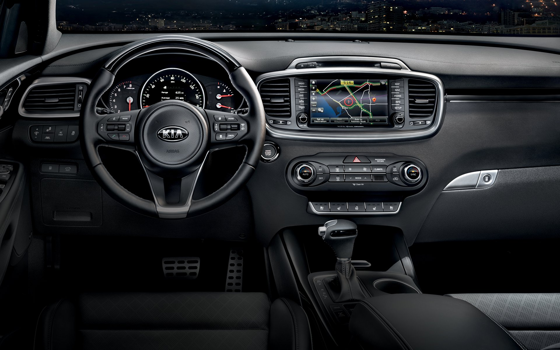 New Kia Sorento Interior image 2