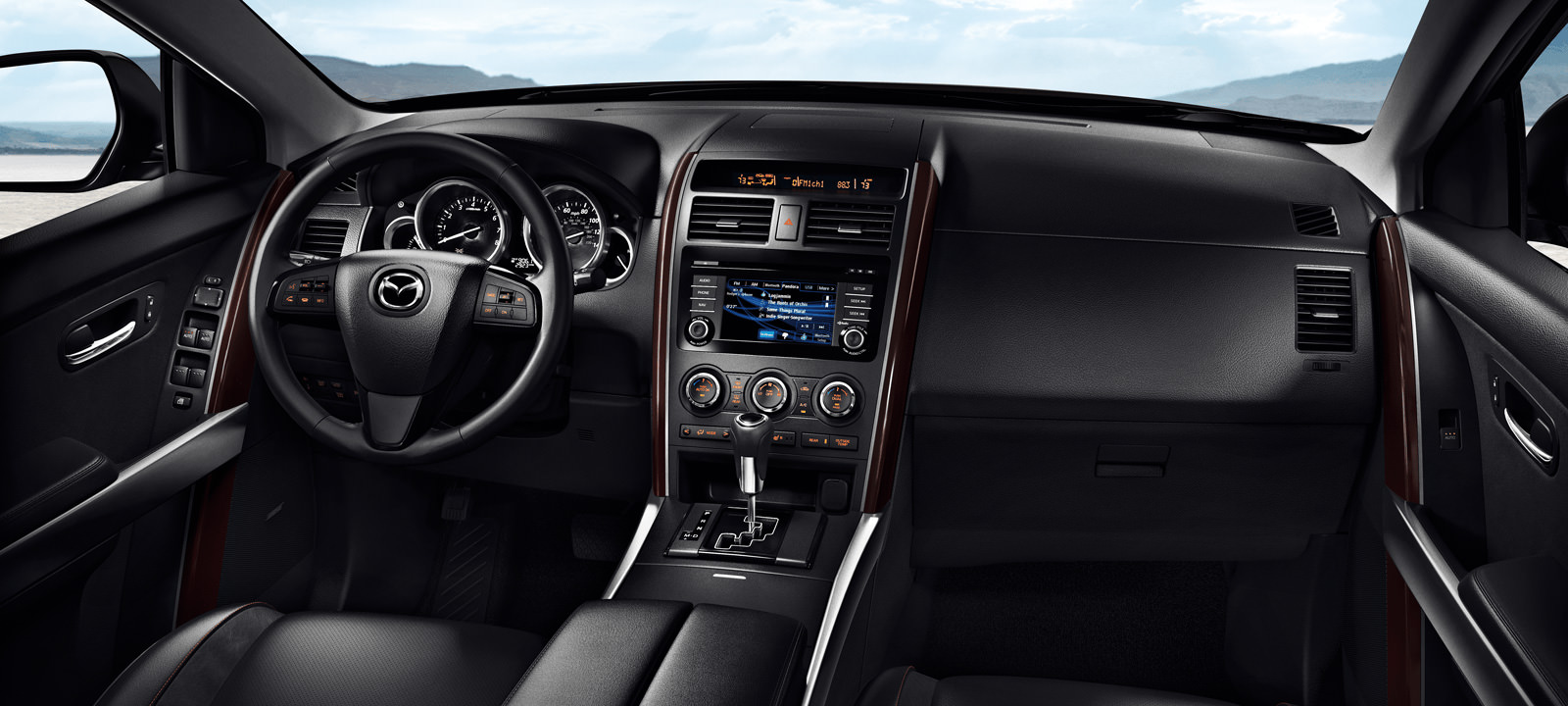 New Mazda CX-9 Interior main image