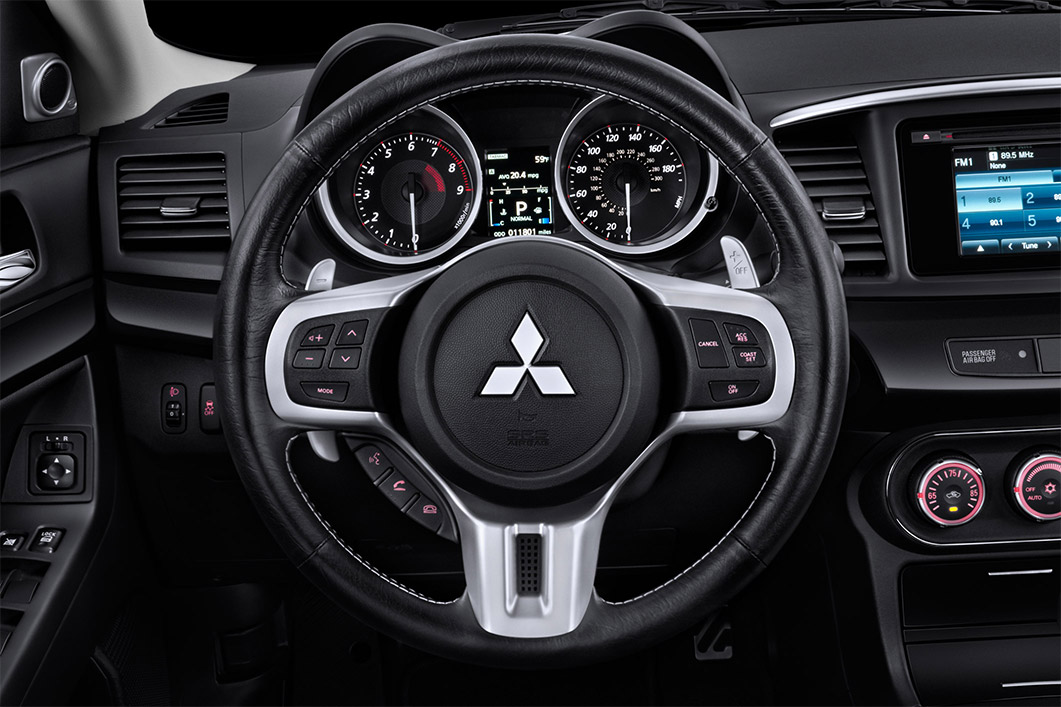 New Mitsubishi Lancer Evolution Interior main image