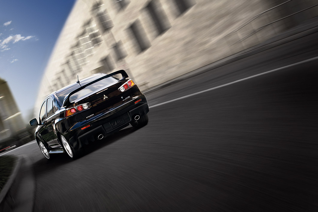 New Mitsubishi Lancer Evolution Exterior main image