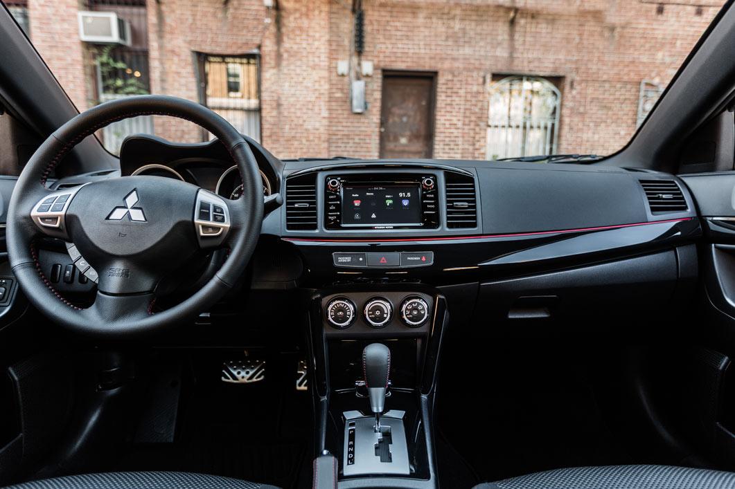 New Mitsubishi Lancer Interior main image