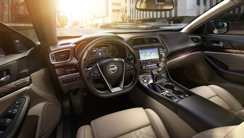 New Nissan Maxima Interior main image