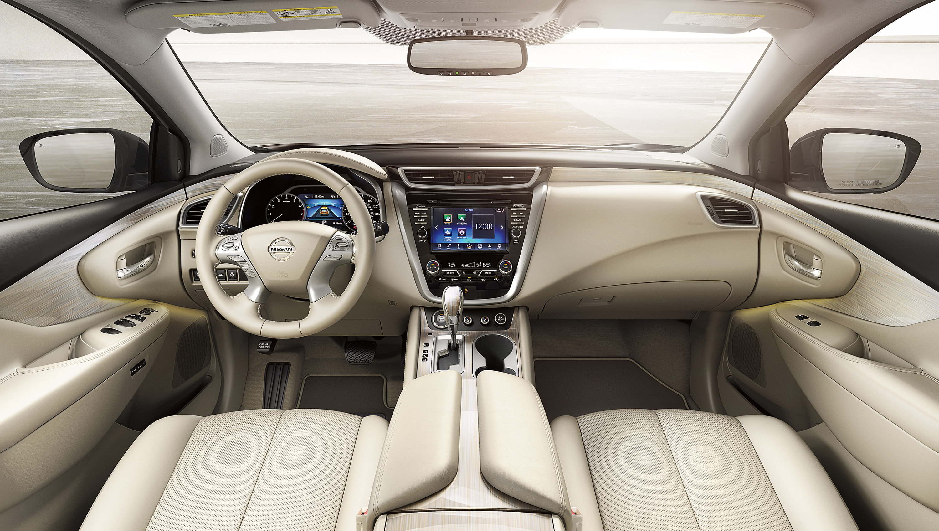 New Nissan Murano Interior Features