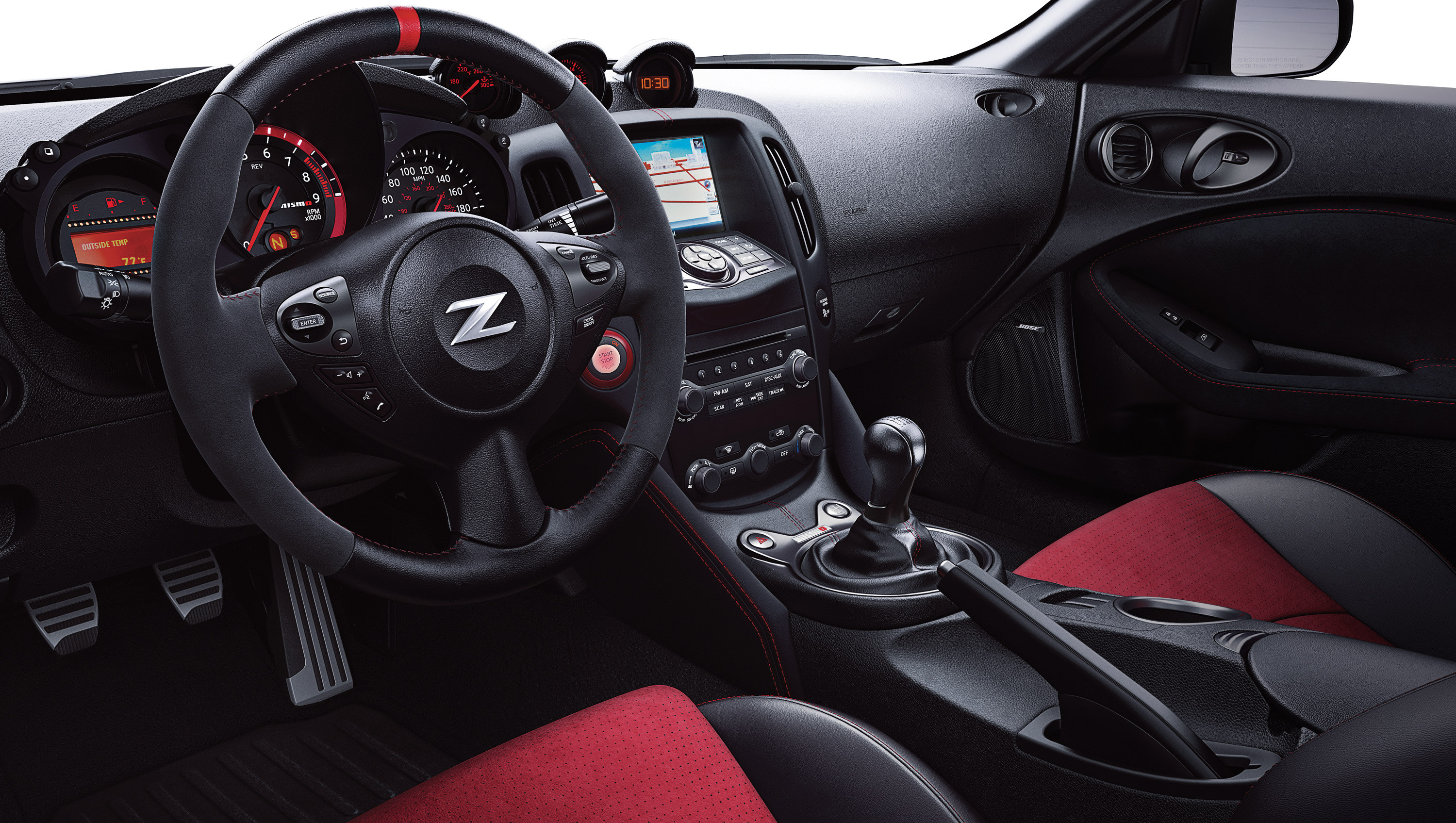 New 370z offers new nissan 370z interior features vanachro Image collections