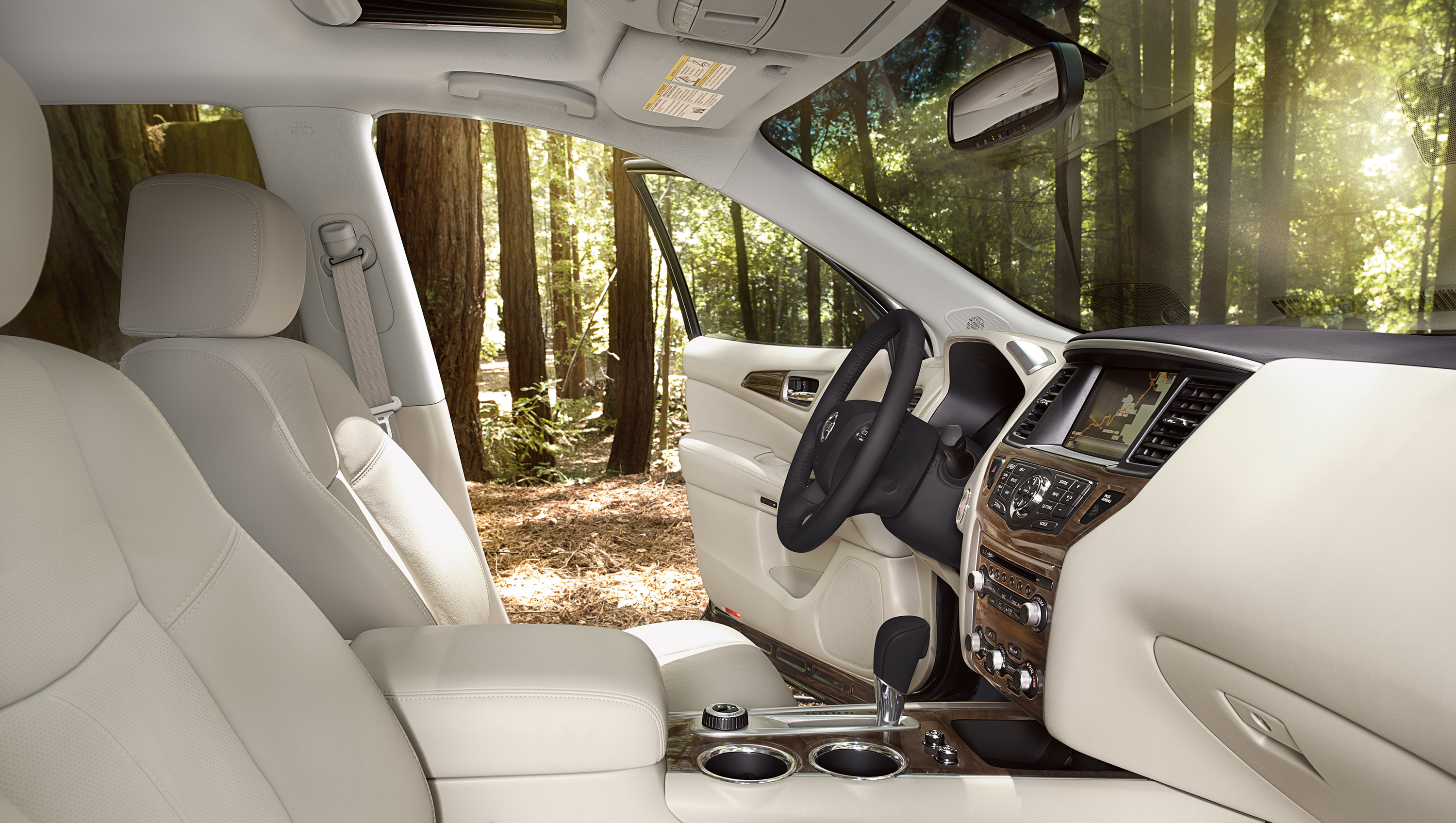 New Nissan Pathfinder Interior