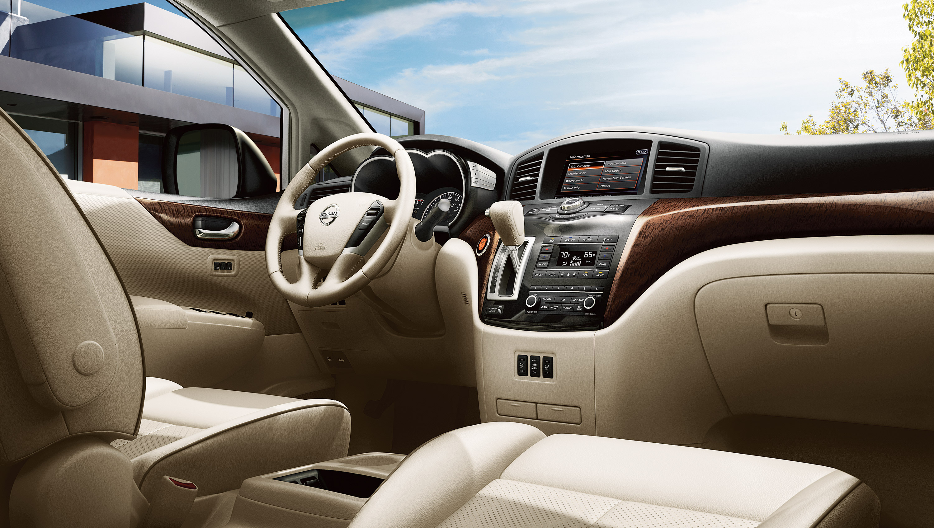 New Nissan Quest Interior main image