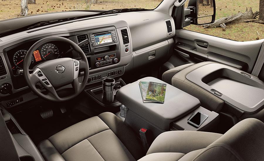 New Nissan NV Interior main image