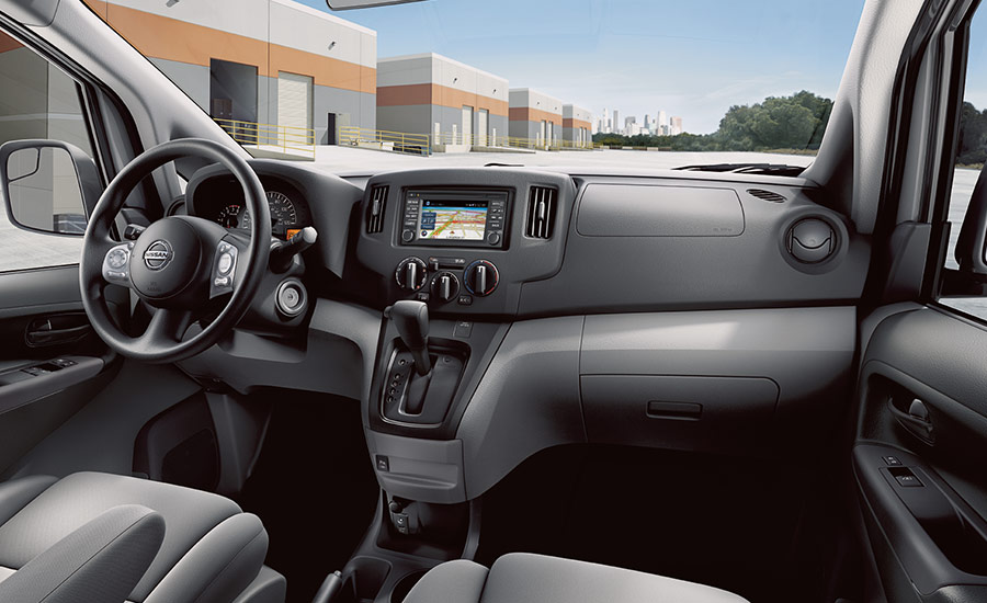 New Nissan NV200 Interior