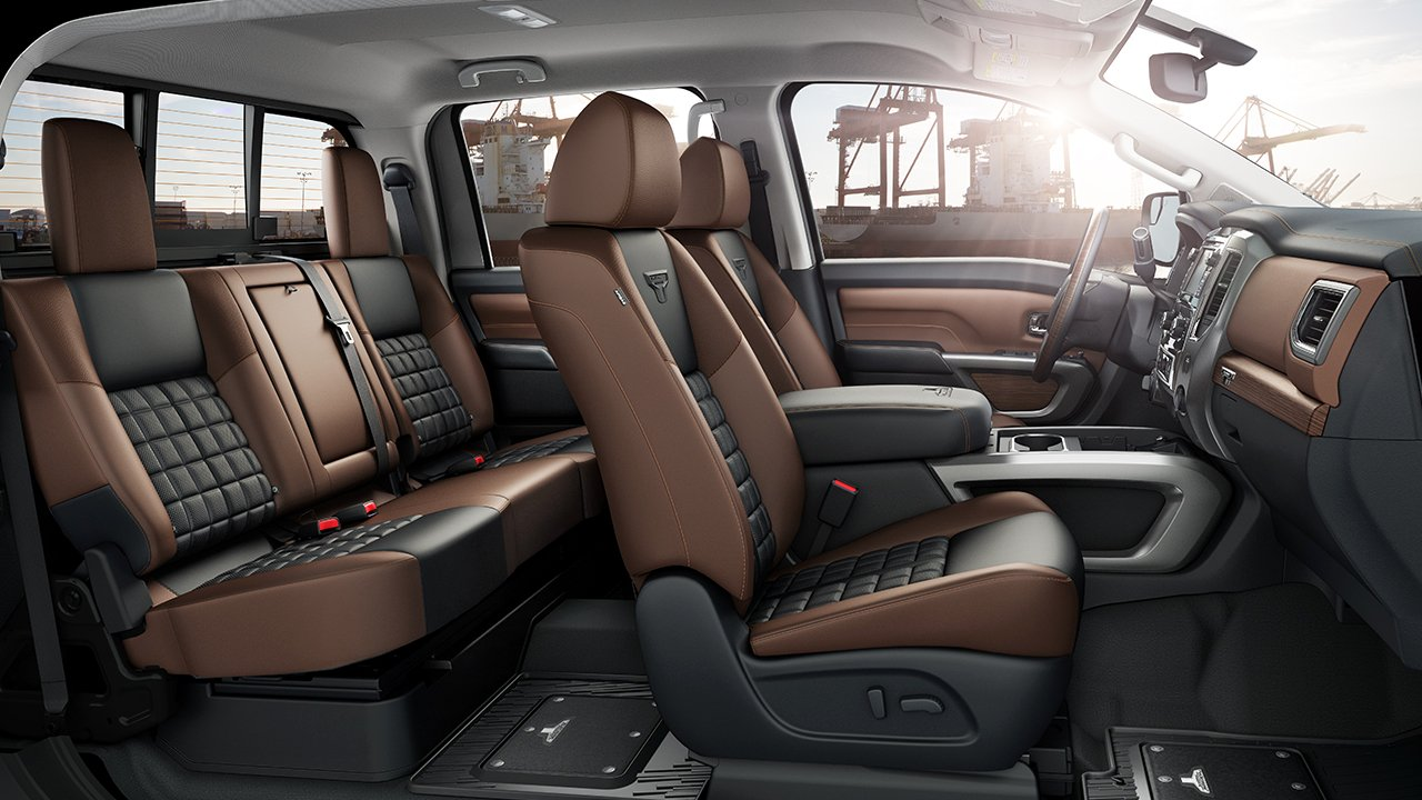 New Nissan Titan Interior main image