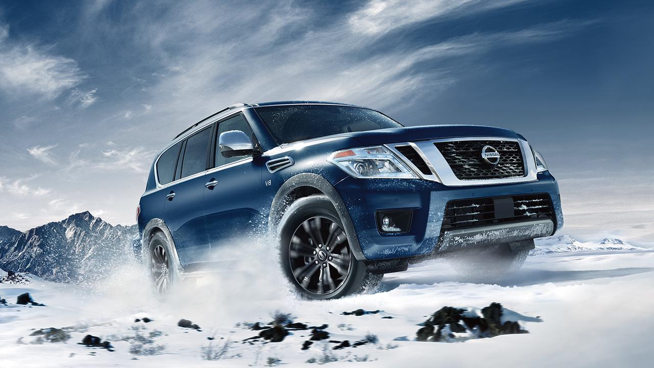New Nissan Armada Exterior main image