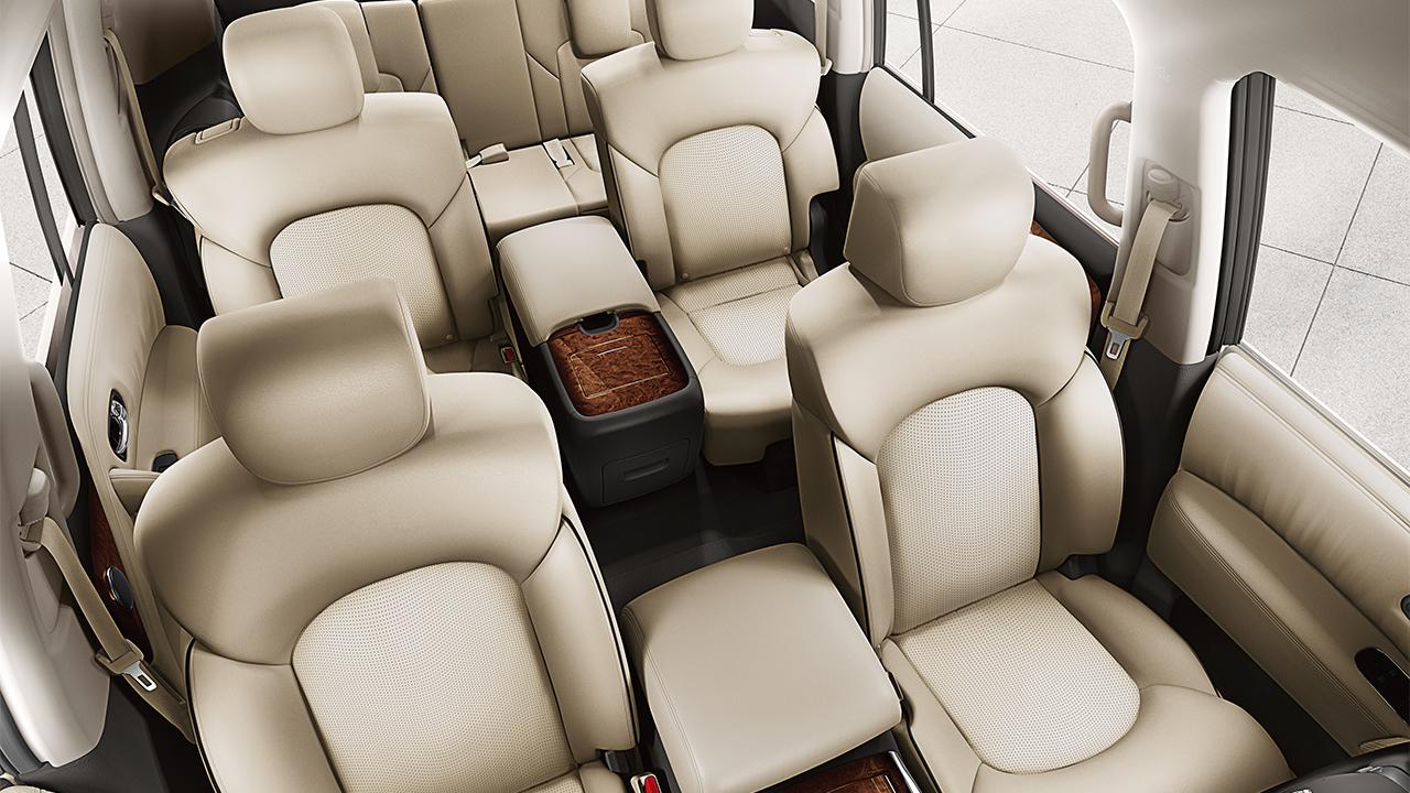 New Nissan Armada Interior image 2