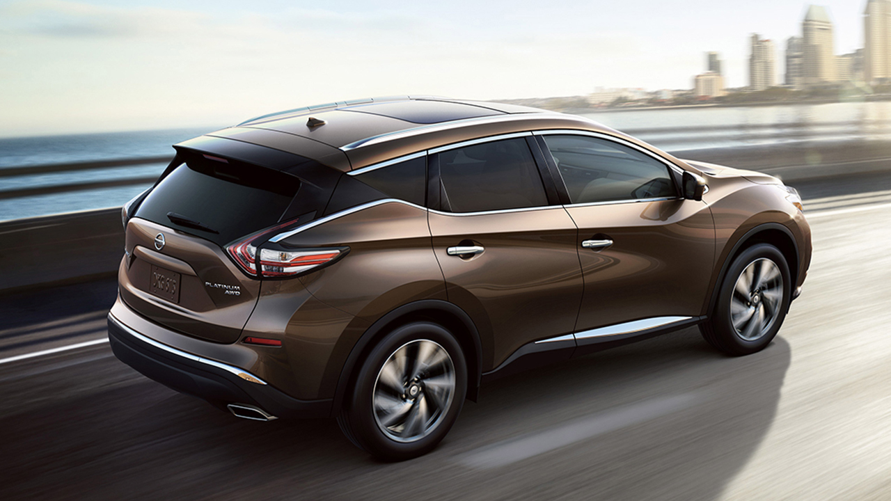 New nissan murano exterior features