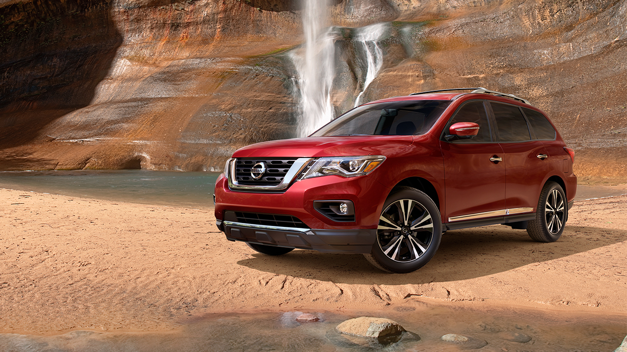New nissan pathfinder on sale at clay cooley nissan of austin in tx