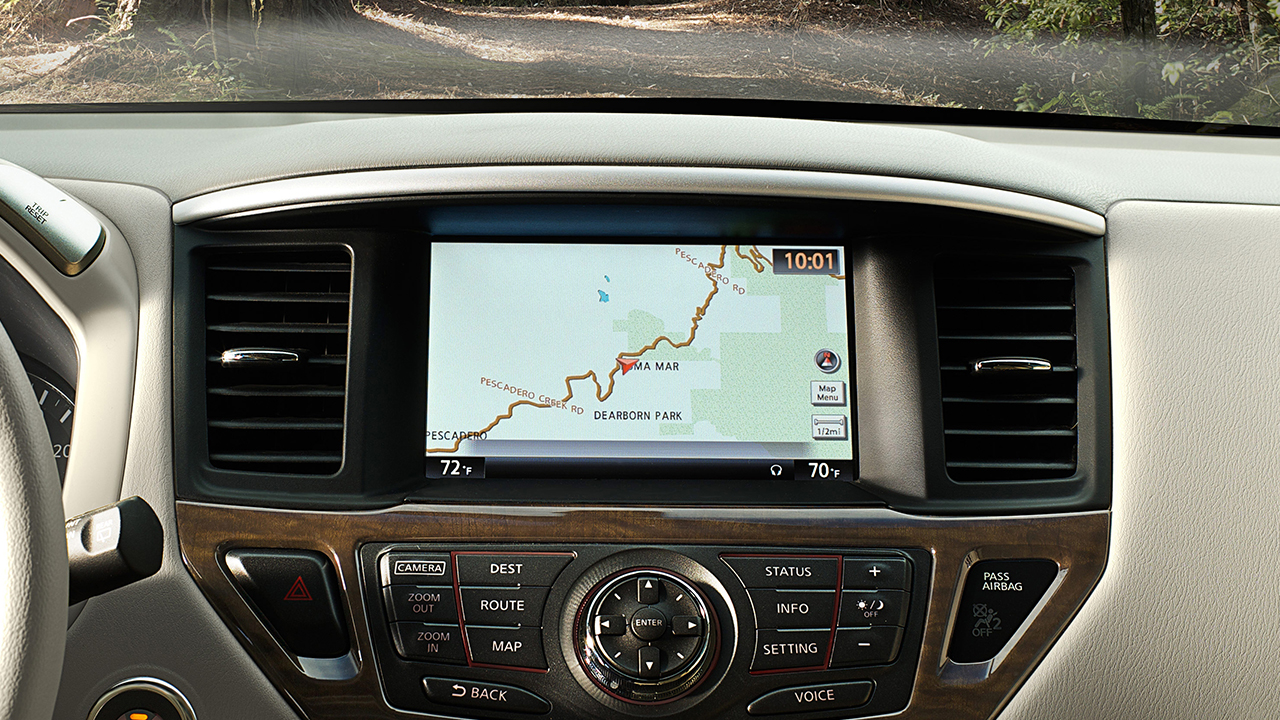 New Nissan Pathfinder Interior main image