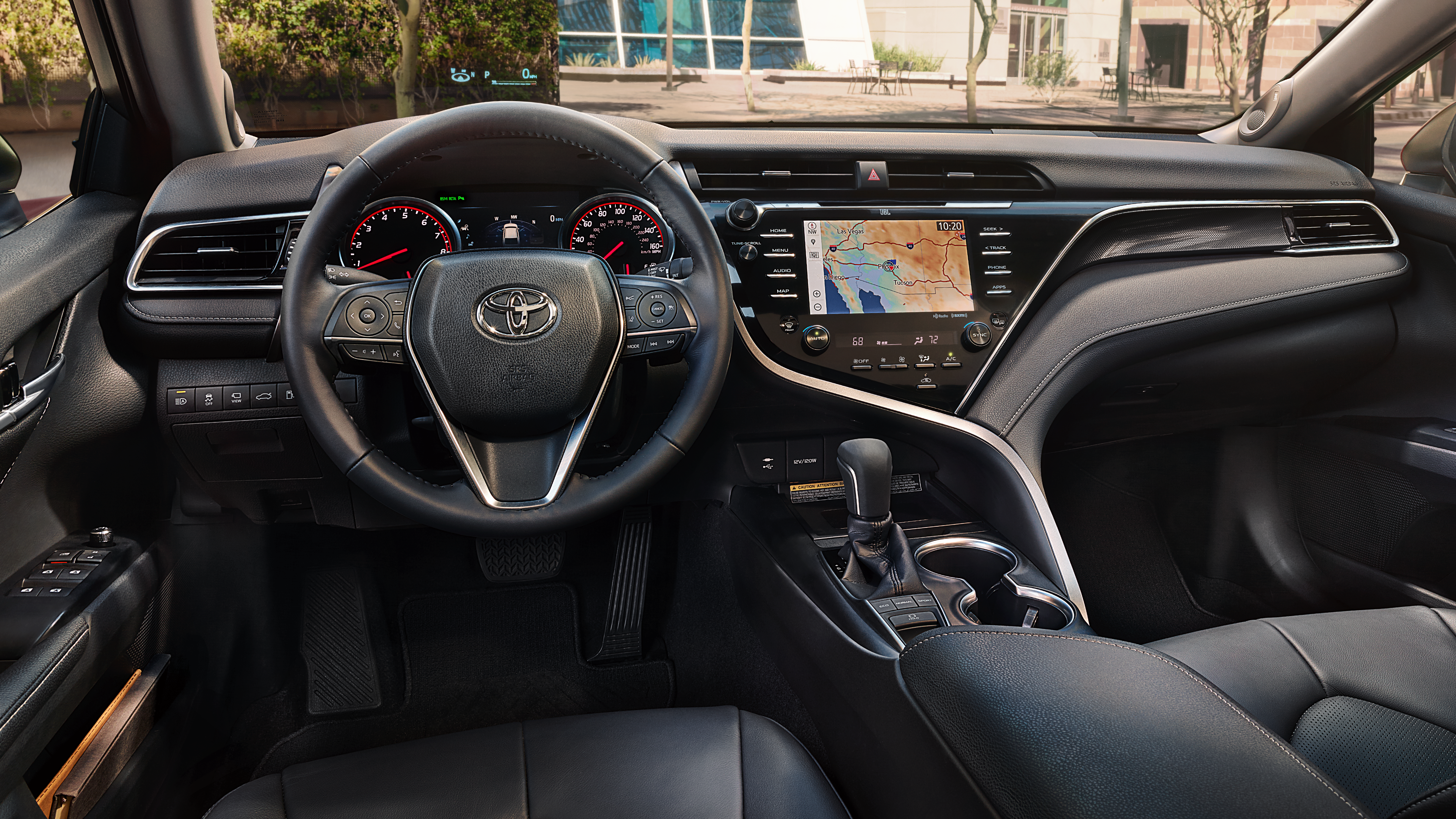 New Toyota Camry Interior Features