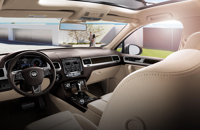 New VW Touareg Interior image 2