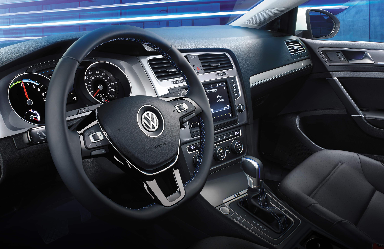 New VW e-Golf Interior main image