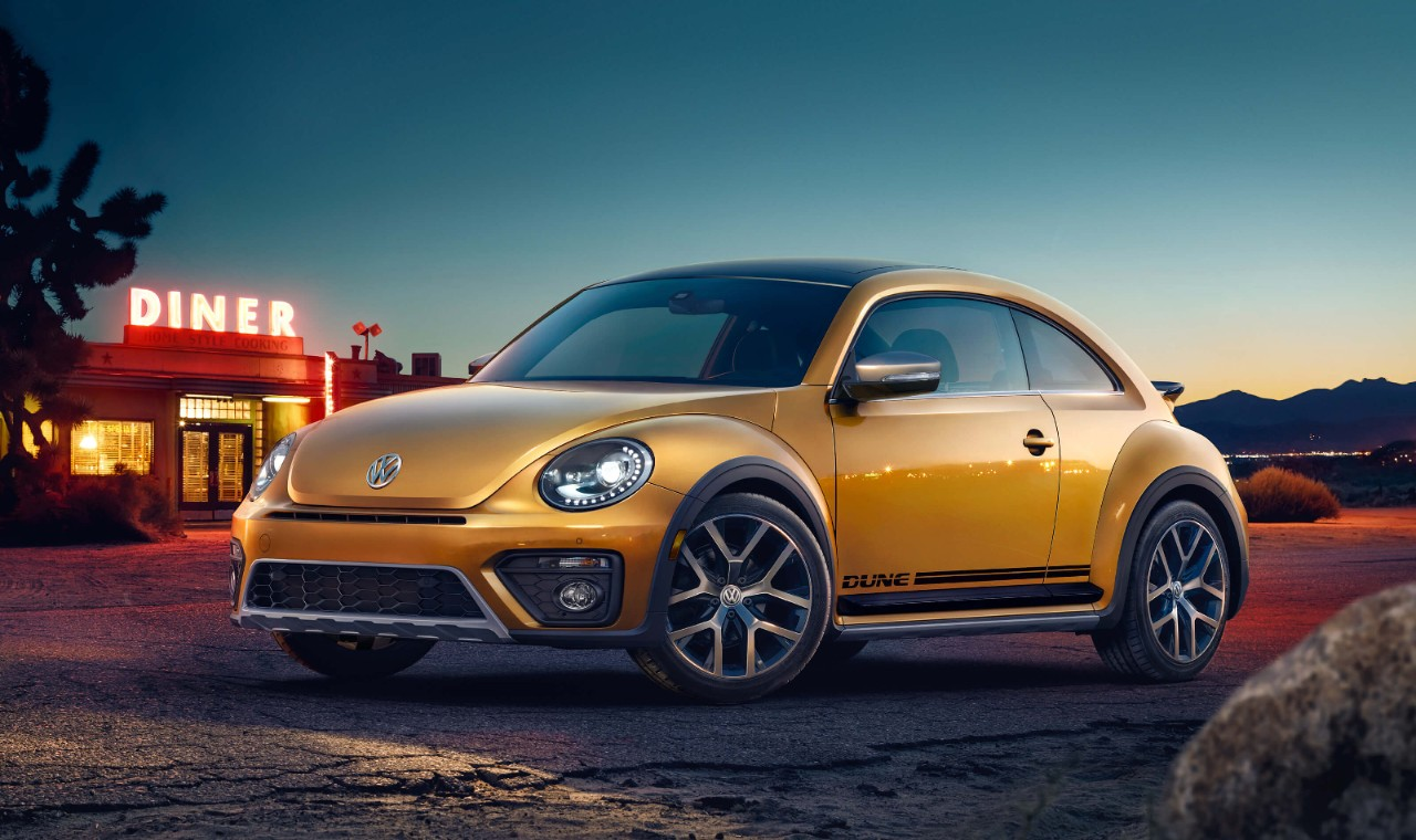 New VW Beetle Coupe Exterior main image