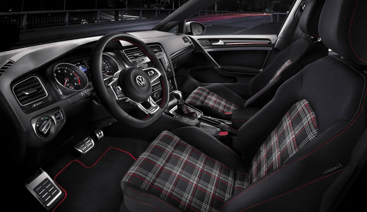 New VW Golf GTI Interior main image