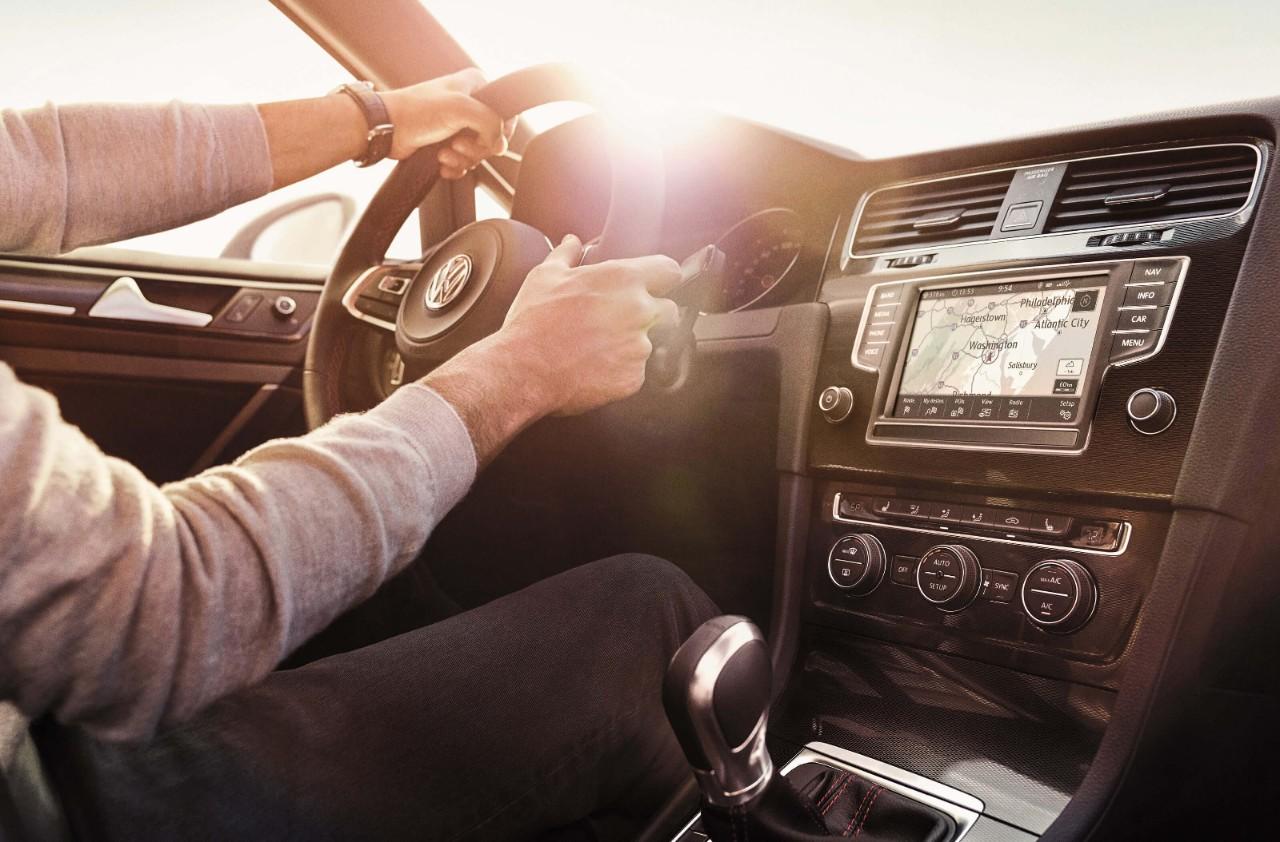 New VW Golf GTI Interior image 1