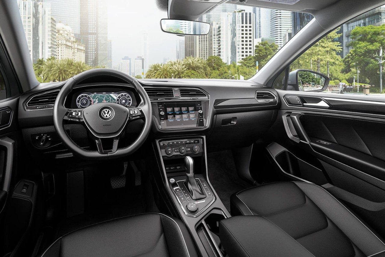 New VW Tiguan Interior Features