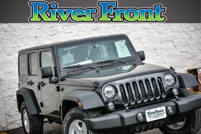 New 2017 Jeep Wrangler in North Aurora Illinois
