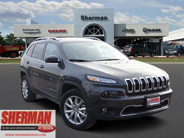 New 2017 Jeep Cherokee in Chicago Illinois