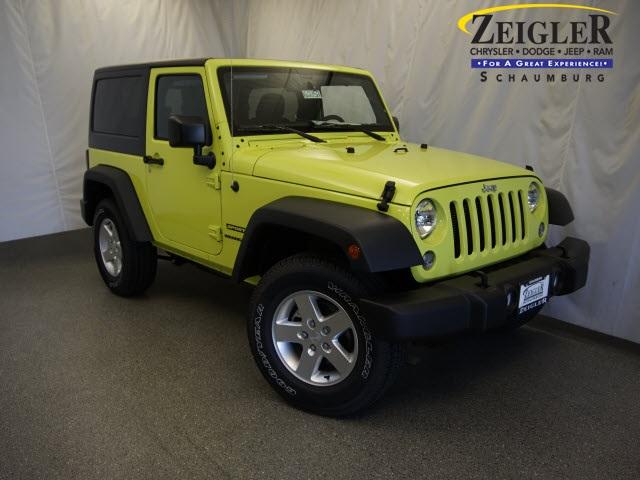 New 2016 Jeep Wrangler in Schaumburg Illinois