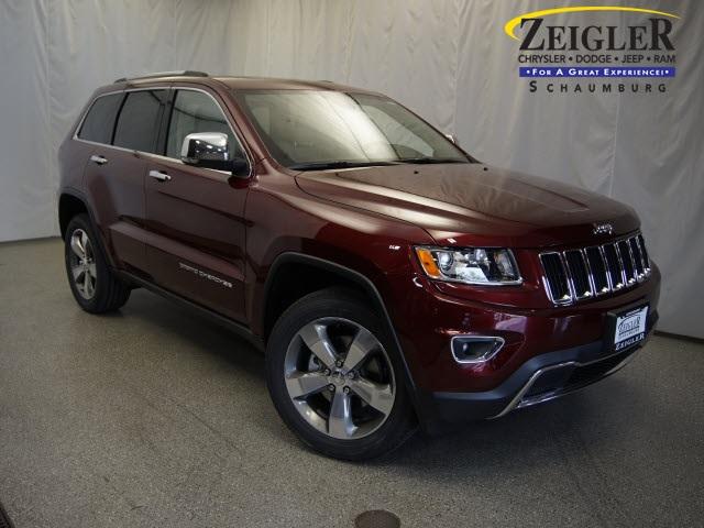 New 2016 Jeep Grand Cherokee in Schaumburg Illinois