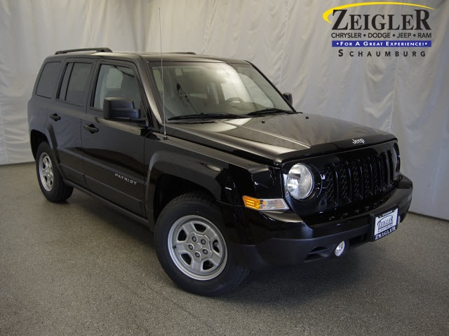 New 2016 Jeep Patriot in Schaumburg Illinois