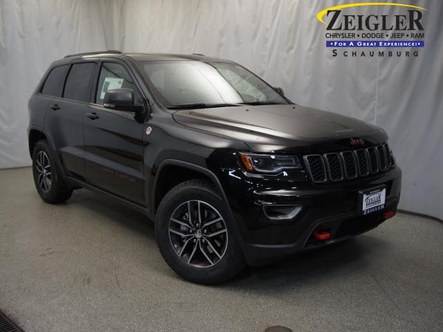 New 2017 Jeep Grand Cherokee in Schaumburg Illinois