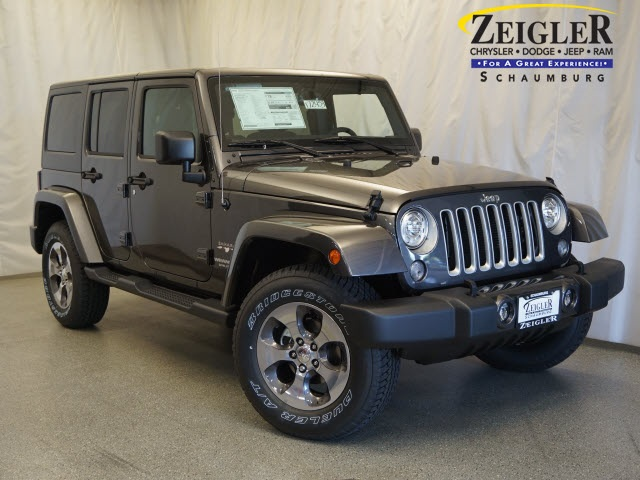 New 2017 Jeep Wrangler in Schaumburg Illinois