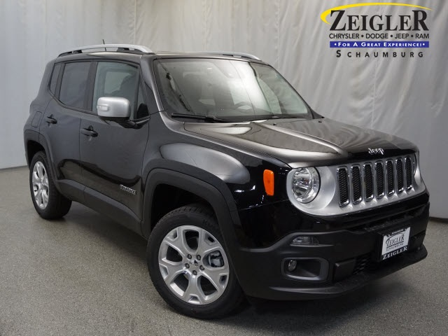 New 2017 Jeep Renegade in Schaumburg Illinois