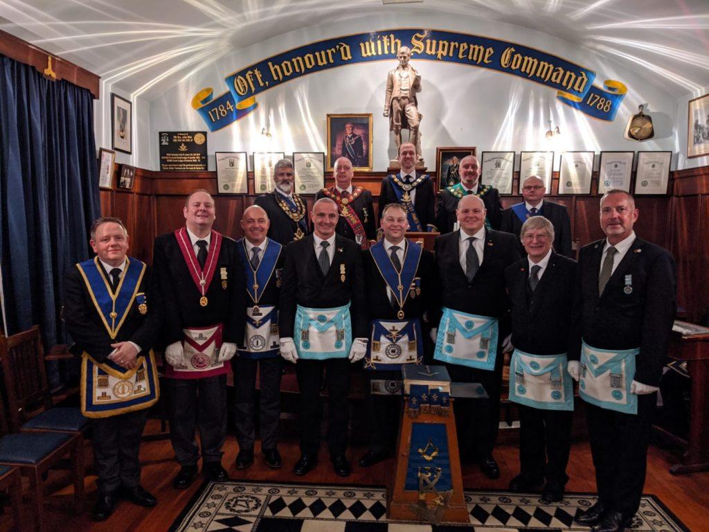 Carl Allen and his Fellow Freemasons