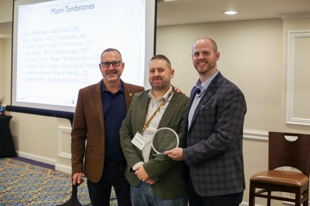 Carl Allen, Richard Tunnah, and Adam Markley Dealmaker Conference