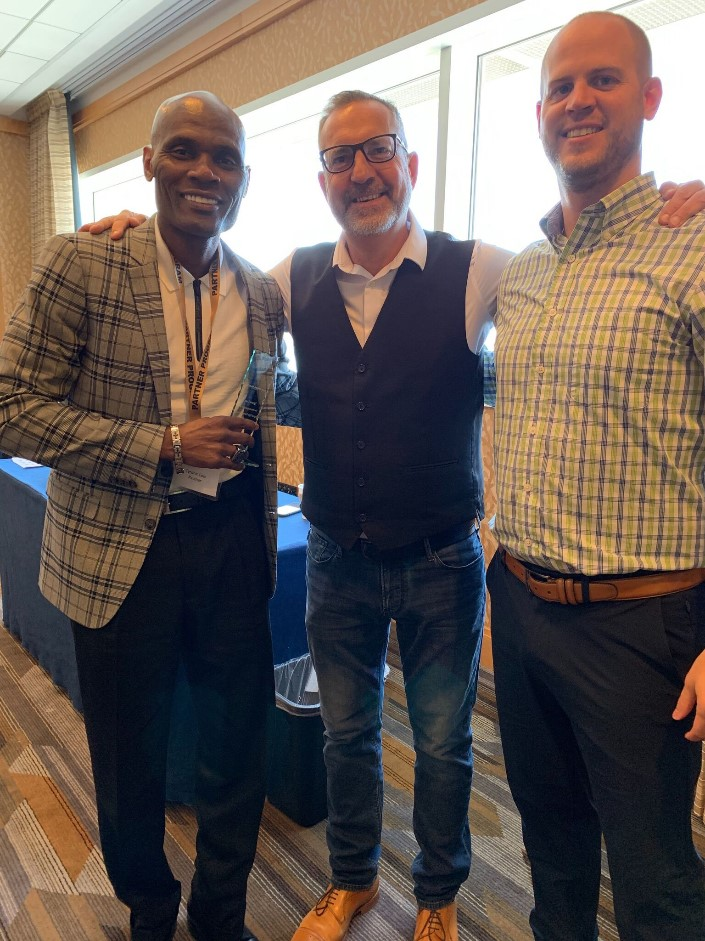 Tyrone C. , Carl Allen, Adam Markley at San Diego Dealmaker Conference