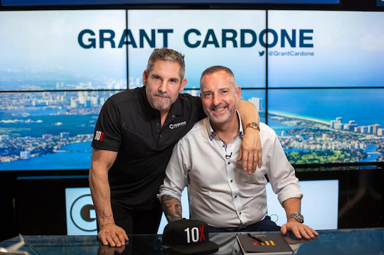 Markley with Grant Cardone