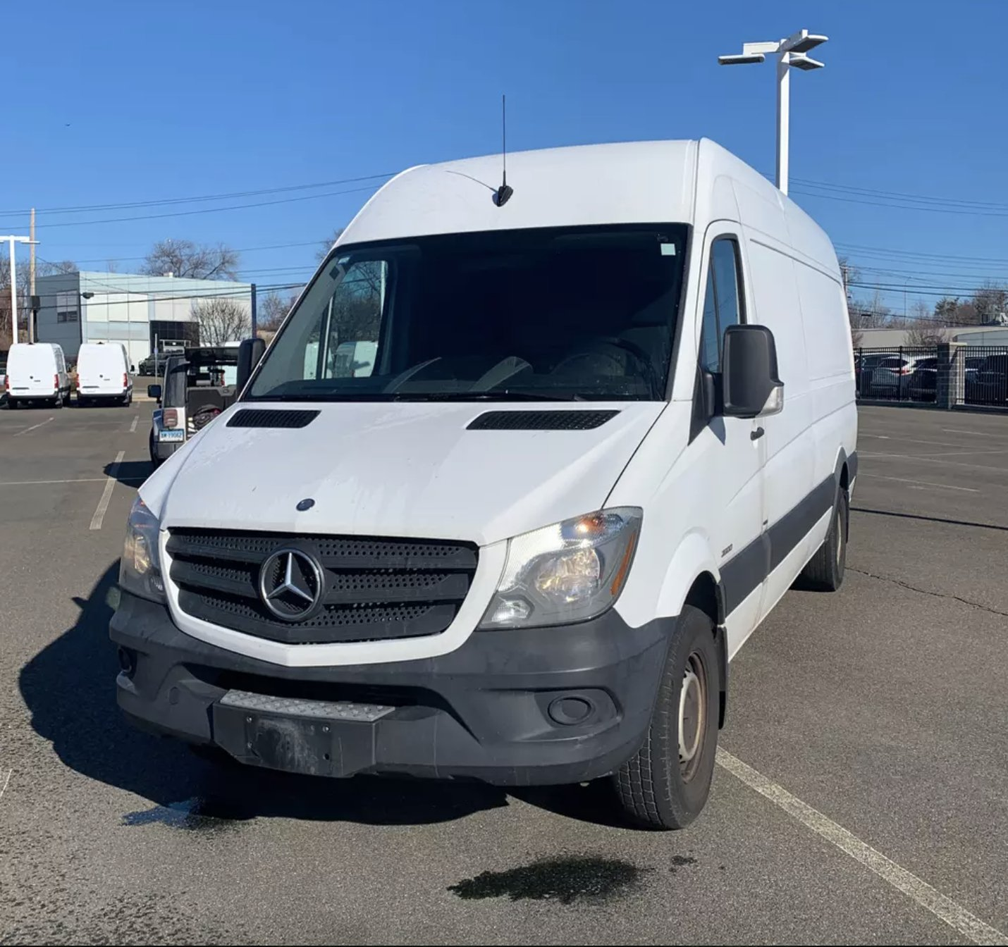 2015 Mercedes-Benz Sprinter Cargo 2500 170 High Roof RWD