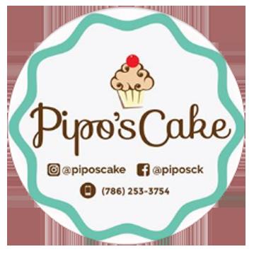 Logo Pipos Cake