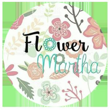 Logo Flower Martha