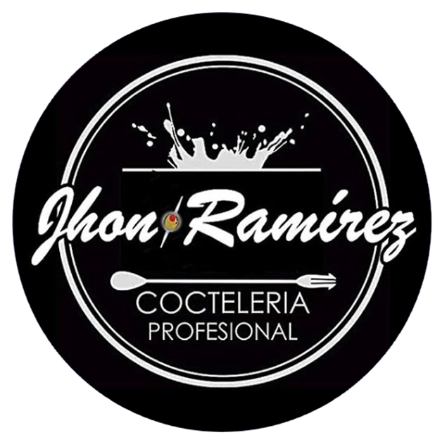 Logo Bartender Jhon Ramirez