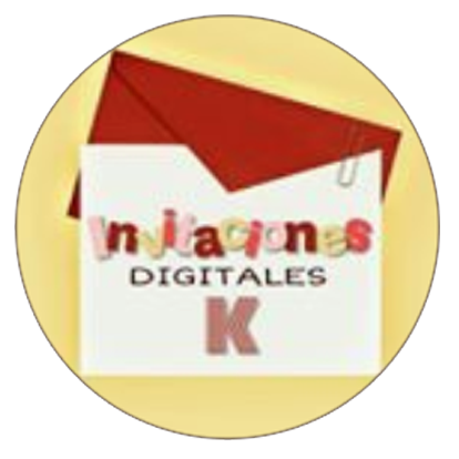 Logo Invitaciones Digitales K