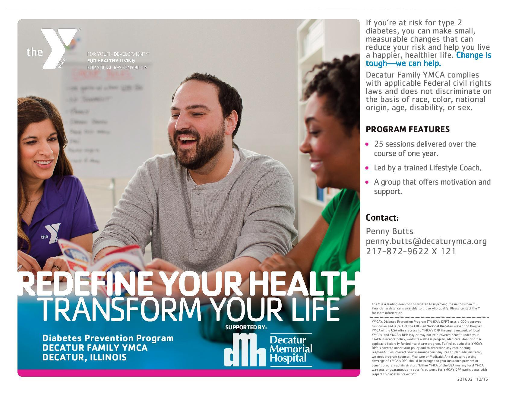 Healthy Living and Community Happens Here   Decatur Family YMCA