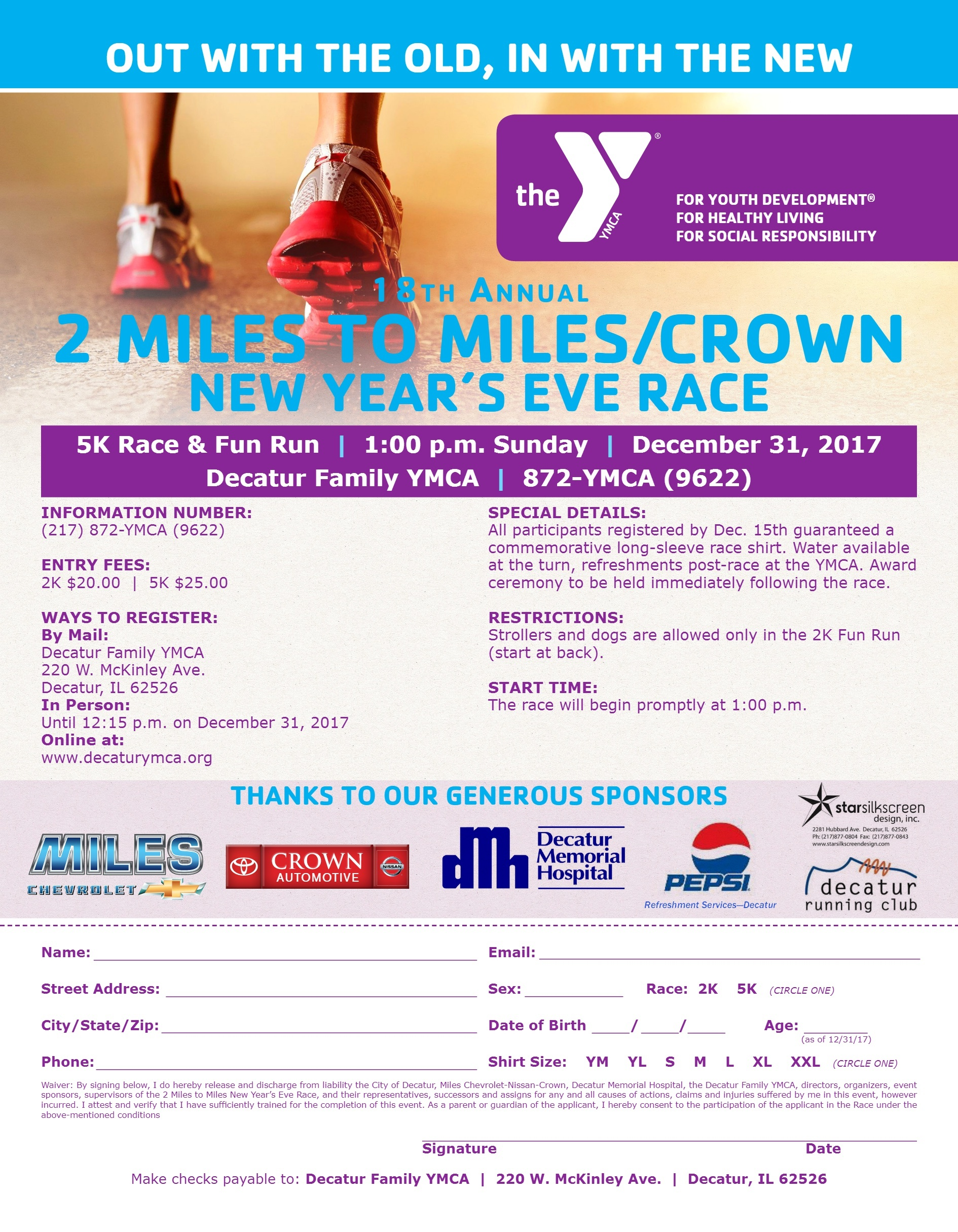 Miles Chevrolet Decatur Il >> Healthy Living And Community Happens Here Decatur Family Ymca