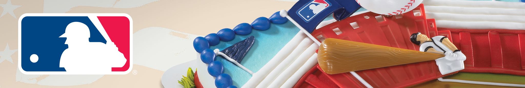 MLB Cake Decorations